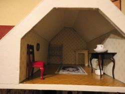 Betty's attic bedroom