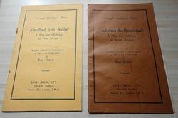 Two original play books