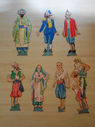 "Characters for ""Sinbad the Sailor"""