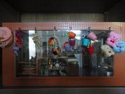 The shop window