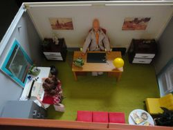 Manager's office - birds-eye view