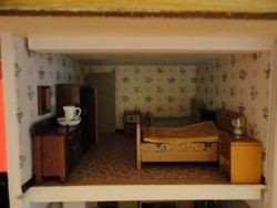 Bedroom, furnished
