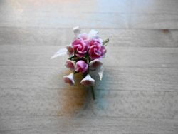 1:16 1965 chief bridesmaid's bouquet by Jan Southerton