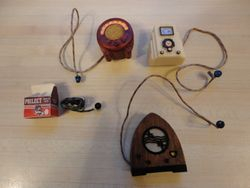 My collection of Jane Woodham electrical items