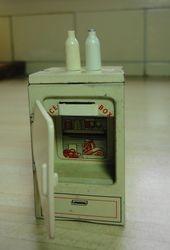 Brimtoy fridge, with accessories