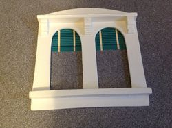 Reproduction blinds in restored window
