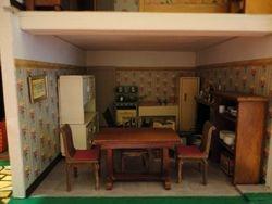 Kitchen-living room, furnished