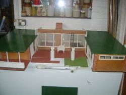"""My Home"" Bungalow, October 1960. Approximate dimensions: 46 inches [115 cm] wide, 33 inches [82.5 cm] deep and 12.5 inches [31 cm] high."