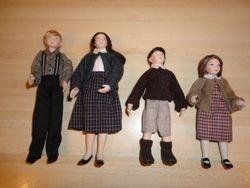 The four Pevensie children