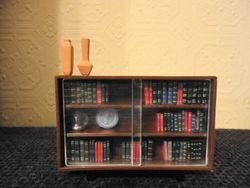 Spot-On bookcase with new books - that's better!