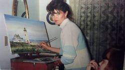 Artist Becky Van Pelt