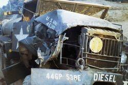 Diesel truck accident