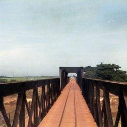 Rail Road Bridge over the River Kwai