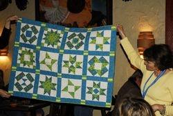 Danielle's Mod-itional quilt.