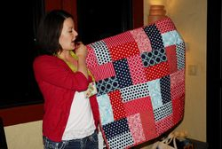 Traci's Stroller Quilt