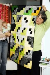 Cat's Lottery Quilt