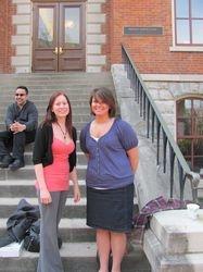 Melinda and Rachelle