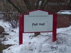 Fell Hall (Com Dept and Round building)