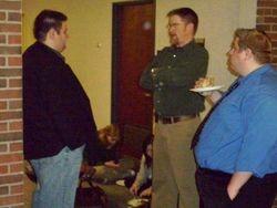 John, Kelly and Rob