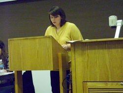 Rachelle Ketchum (outround against SMU)