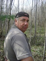 My Father Gerry Helping Search For Missing Aboriginal Girls In Kitigan-Zibi, Algonquin Territory.