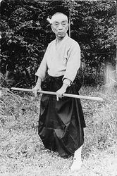 Soke Hatsumi's late teacher Takamatsu