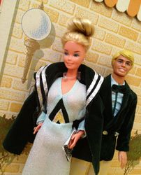 Superstar Barbie and Ken
