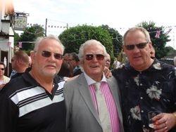 Tony Bates, Joe Cornelius, Tony Walsh