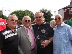 Tony Bates, Joe Cornelius, Tony Walsh, Alan Kitto