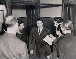 Leaving D.A.'s office Jan 10th, 1939 in  New York