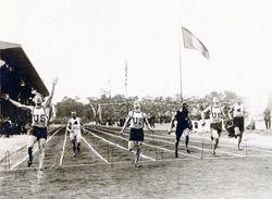 r-Allied Games in 1919 Paris -100m