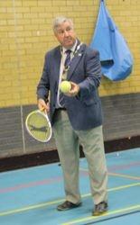 Tennis in a chain
