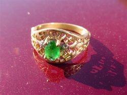 10K Gold ring-Steve-Oct 09