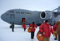 C-17 arriving