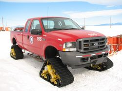 Ford truck with Maco traks