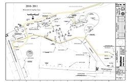 Map of Pegasus airfield