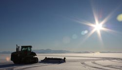 Building an ice road