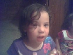 My Grandaughter Sunset Age 4