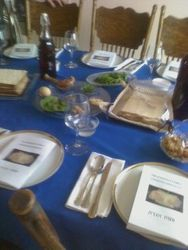 Passover Meal at home of Elder Ray & Cathy Schwartz