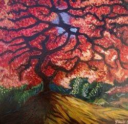 Tree - acrylics