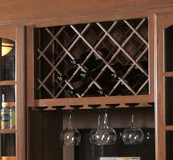Wine and Glass Rack example