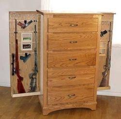 Oak Gun Dresser