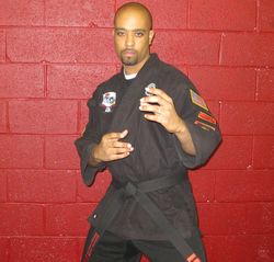 Myloreal Anderson kenpo 3rd Degree Black Belt