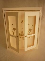 Easiest Card Ever - Bethlehem Window
