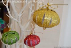Paper Strip Ornaments