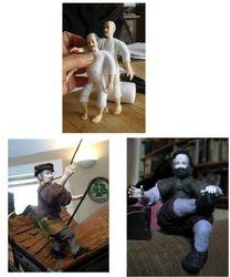 The two Heidi Ott dolls