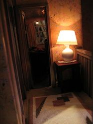The table lamp and the girl's bedroom lamp