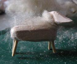 I 'knitted' a sheep