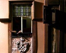 The van Eyck Arnolfini bedroom scene