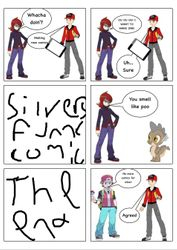 Silver's glorious comic